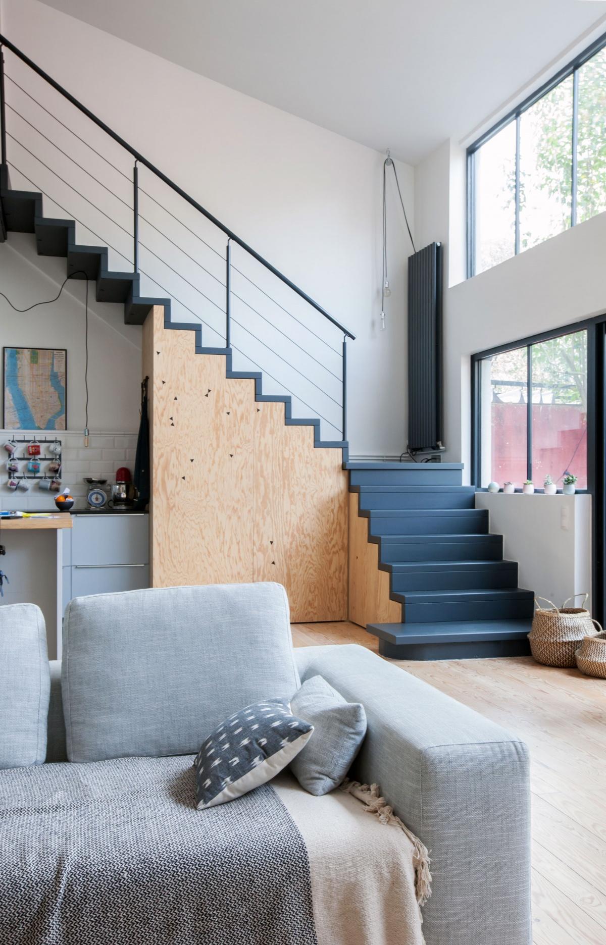 Maison P : Escalier