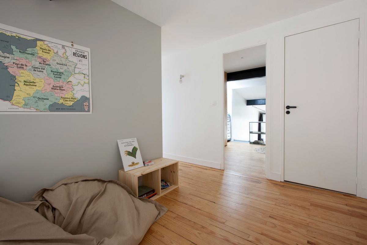 Maison P : Palier étage