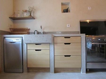 Maison de village : travaux-maison-construction-renovation-extension-decoration-almuneauarchitecteurs-cuisine-pierre.JPG