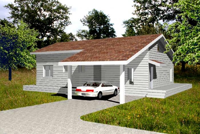 Création d'une maison individuelle