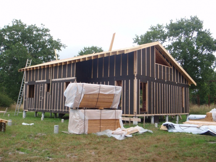 Architectes cr ation d 39 une maison for Architecte bordeaux maison individuelle