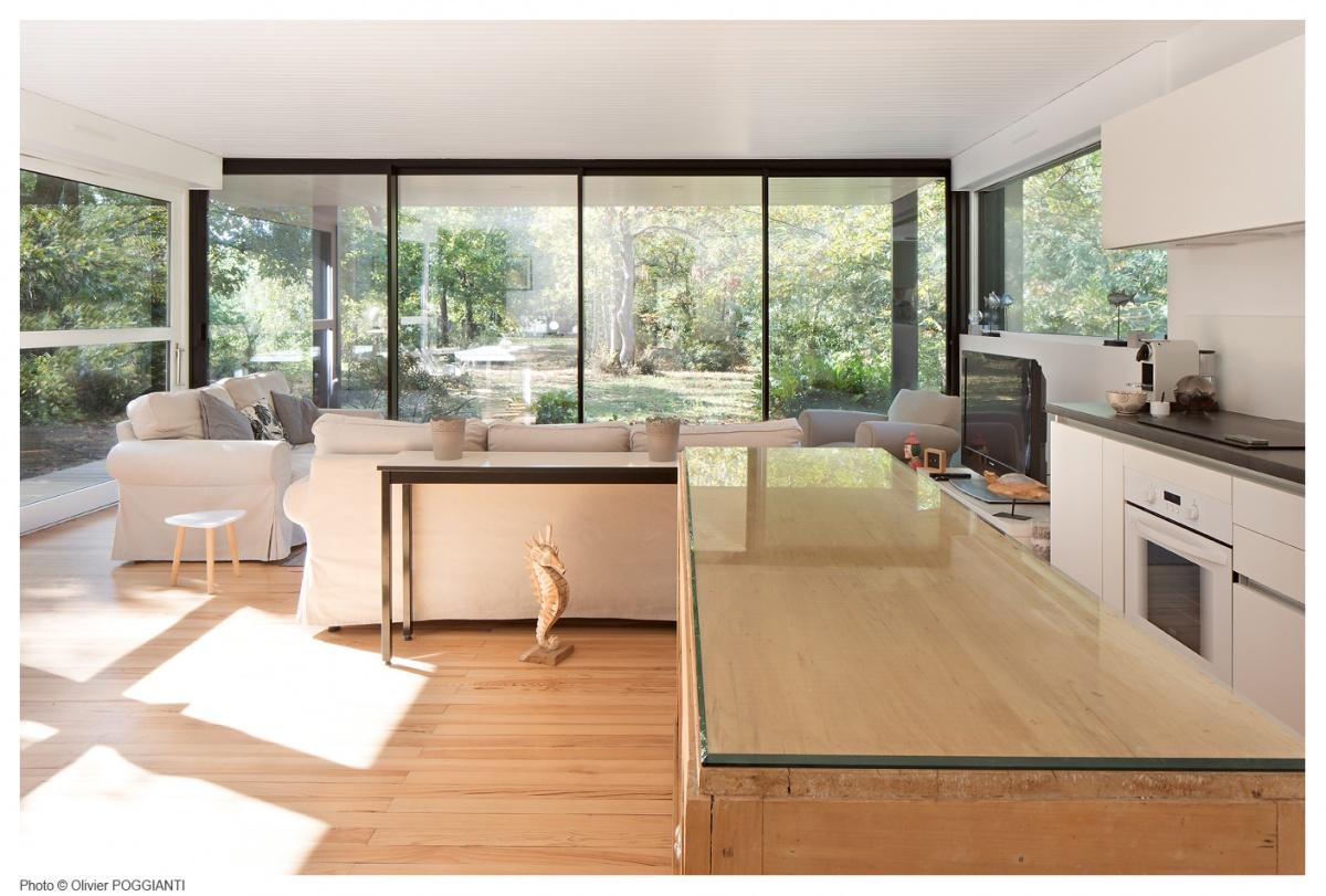 Réhabilitation et extension d'une Maison Boulon en bois : IMG_0043copie copie