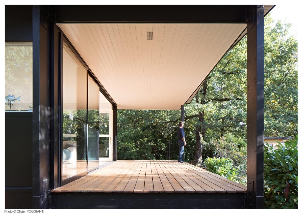 Réhabilitation et extension d'une Maison Boulon en bois : IMG_0111 copie
