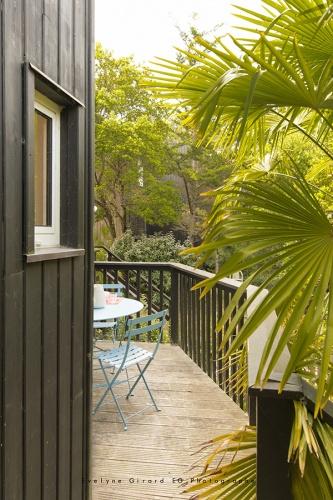 Réhabilitation d'une maison sur pilotis à Lacanau : Plus Architectes LACANAU302018