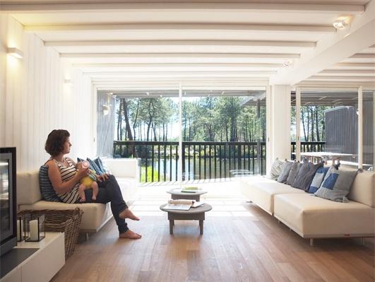 Réhabilitation d'une maison sur pilotis à Lacanau : DSCF5802site