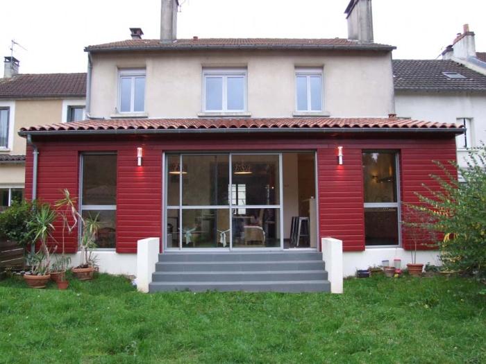 Architectes hall d 39 accueil de fromarsac for Cout agrandissement maison 30m2