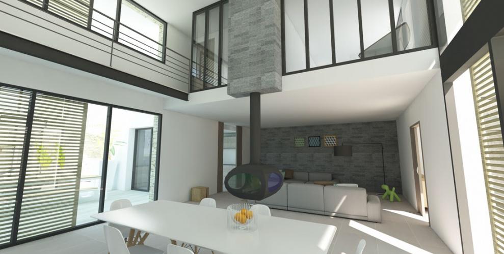 Projet BOU : LISTRAC-MEDOC-Construction-maison-individuelle-villa-neuve-permis-de-construire-atchitecture-interieur-2
