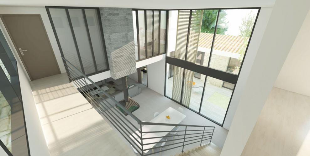 Projet BOU : LISTRAC-MEDOC-Construction-maison-individuelle-villa-neuve-permis-de-construire-atchitecture-interieur-6