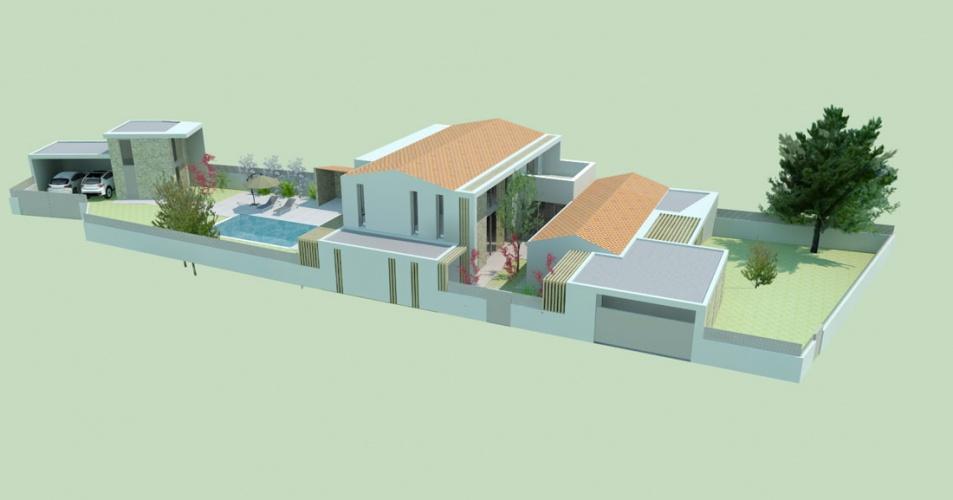 Projet BOU : LISTRAC-MEDOC-Construction-maison-individuelle-villa-neuve-permis-de-construire-4