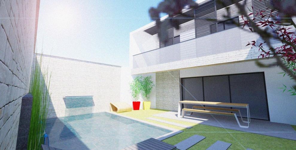 Projet BAL : BORDEAUX-CAUDERAN-rehabilitation-maison-individuelle-extension-surelevation-piscine-2