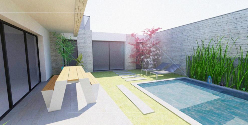 Projet BAL : BORDEAUX-CAUDERAN-rehabilitation-maison-individuelle-extension-surelevation-piscine-1