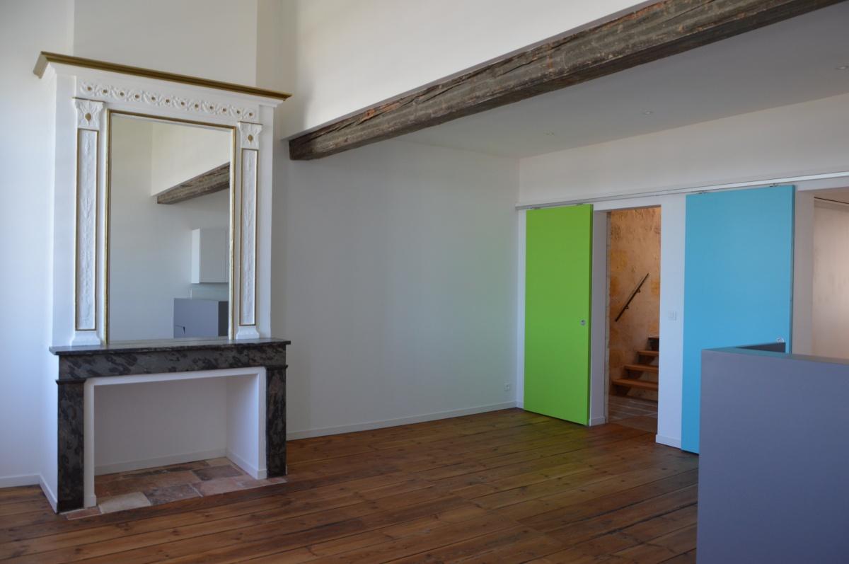 Immeuble Legendre : réhabilitation d'un appartement au 4ème étage