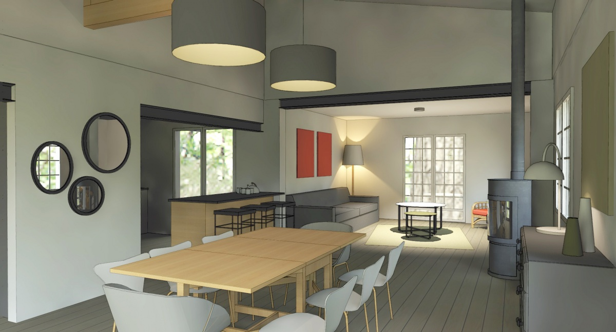 La maison de vacances : 3D 3