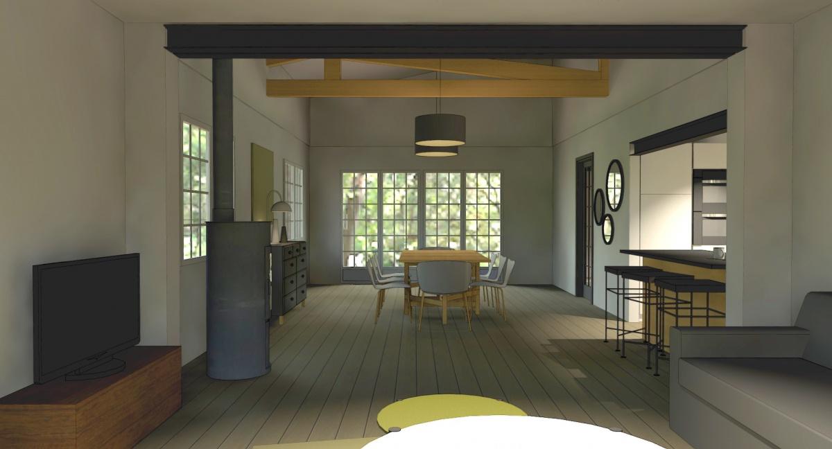 La maison de vacances : 3D 6