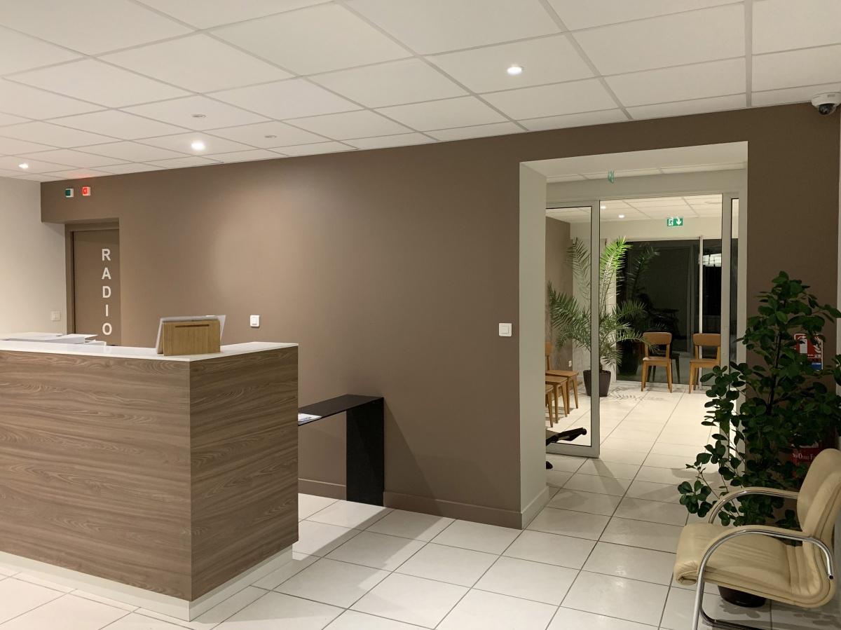 Réhabilitation d'une maison individuelle en cabinet dentaire : Accueil