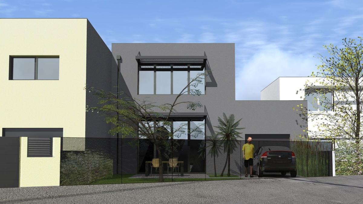 Construction de Quatre Maisons de Ville