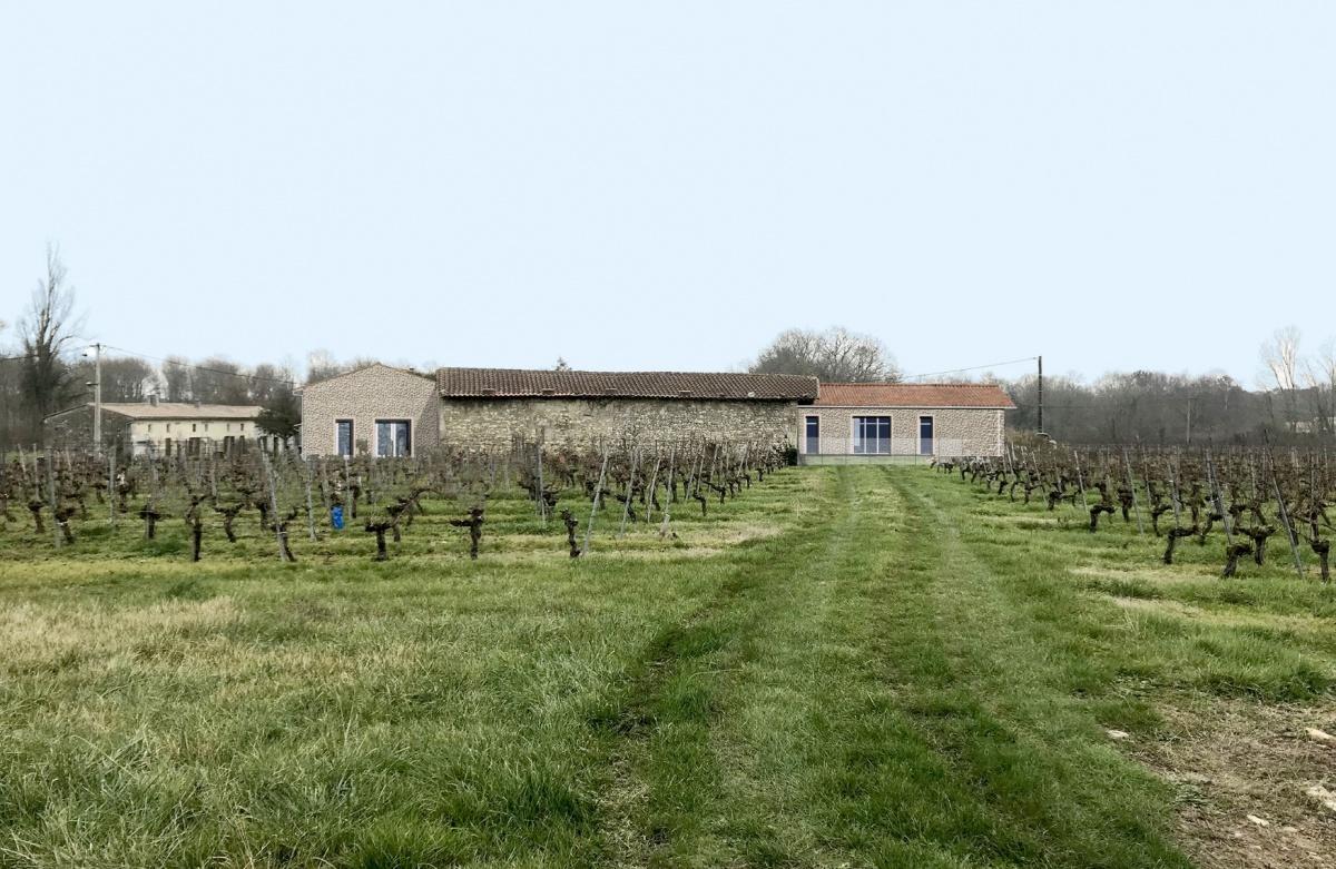 Transformation de chais vinicoles en Maison Individuelle et Gites Ruraux