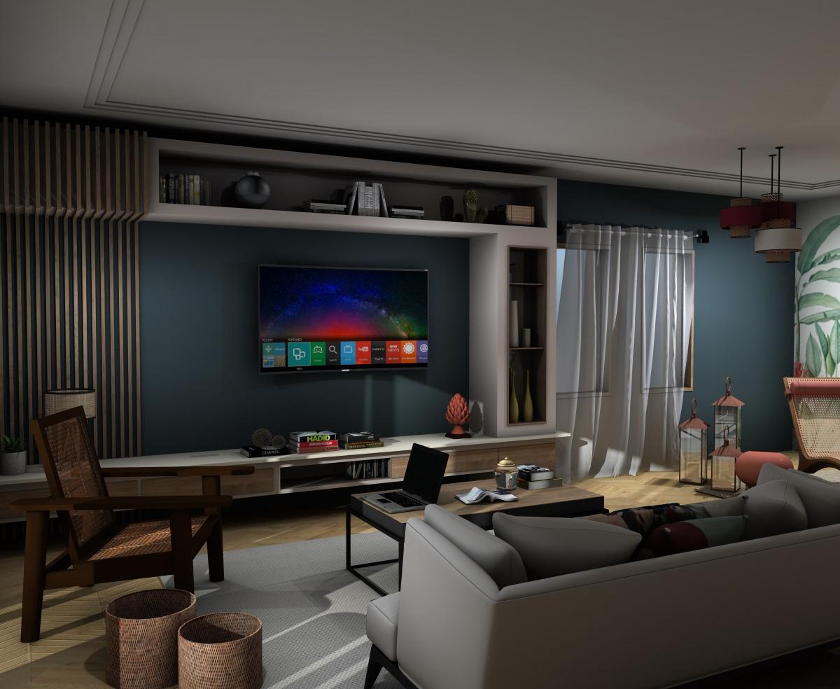 Appartement Bordeaux : salon