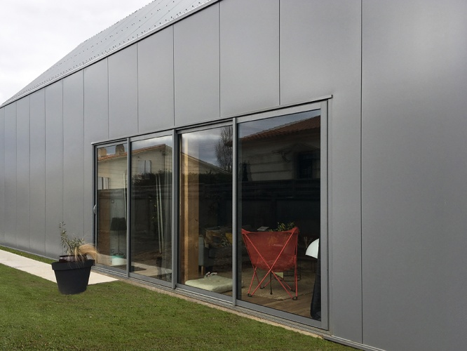 Construction d'une maison individuelle à Cenon : 04