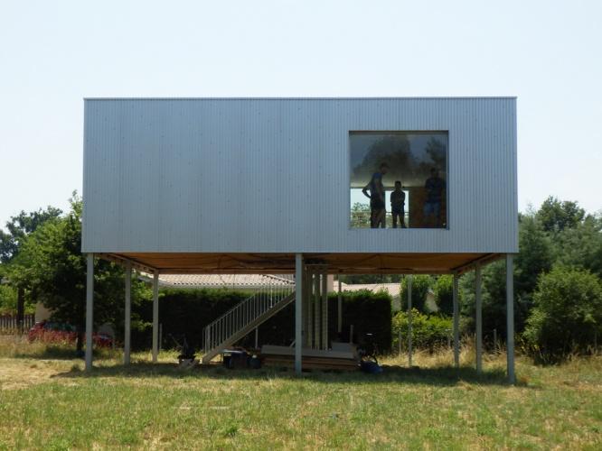 Construction d'une maison à Ayguemorte les Graves : 05