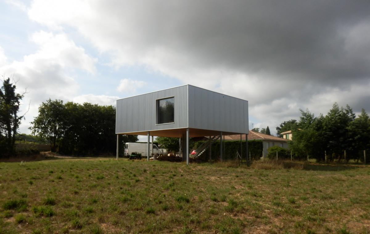 Construction d'une maison à Ayguemorte les Graves : P8060097.JPG