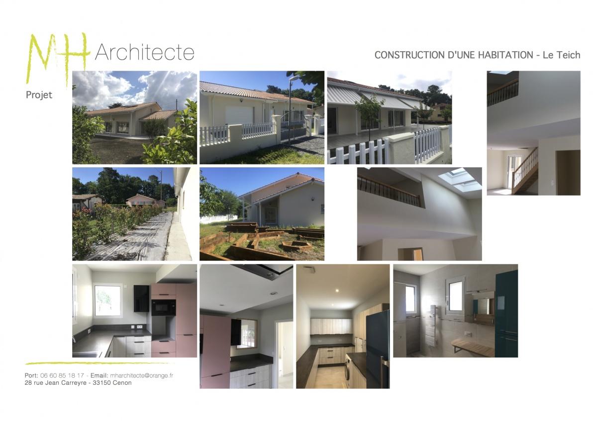 Construction d'une maison individuelle - LE TEICH