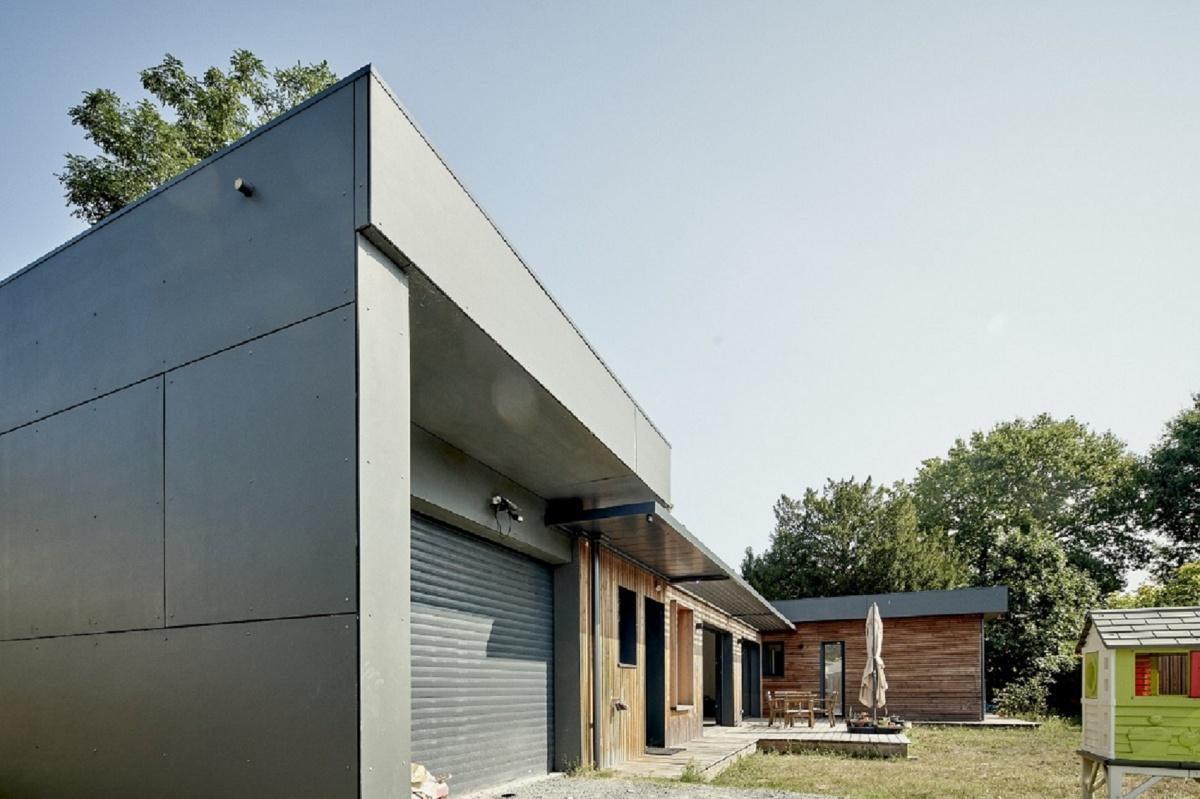 Création Maison Ossature Bois FP33