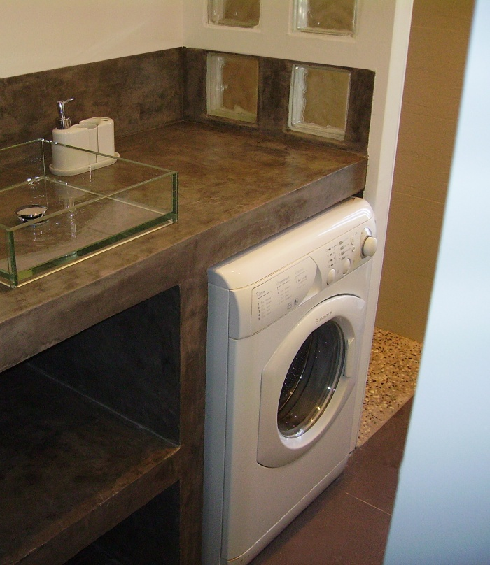 meuble vasque beton images. Black Bedroom Furniture Sets. Home Design Ideas