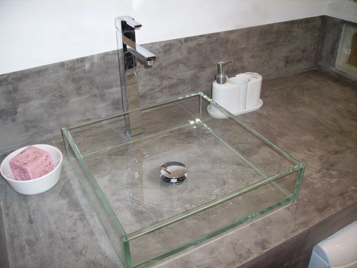 Vasque beton meilleures images d 39 inspiration pour votre for Vasque en beton cire