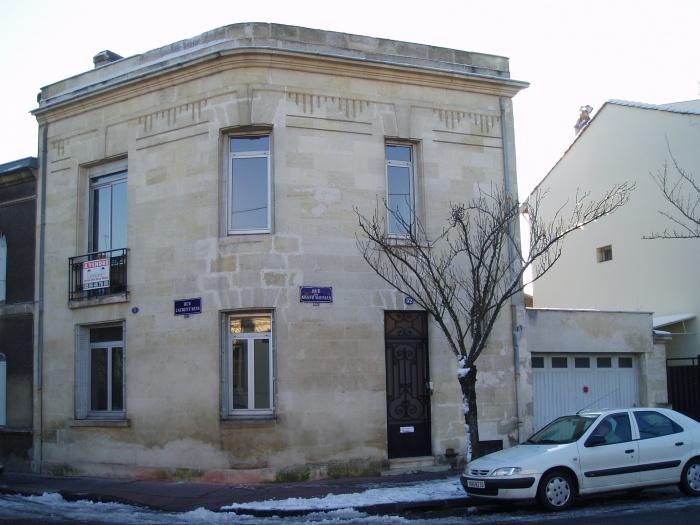 Villa Art Déco à Bordeaux Saint Augustin 2014 : 1