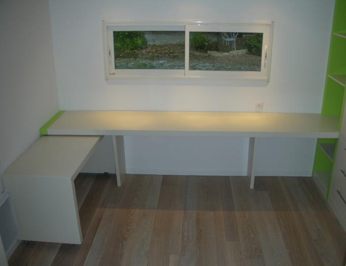 Extension d'une maison d'habitation : espace bureau