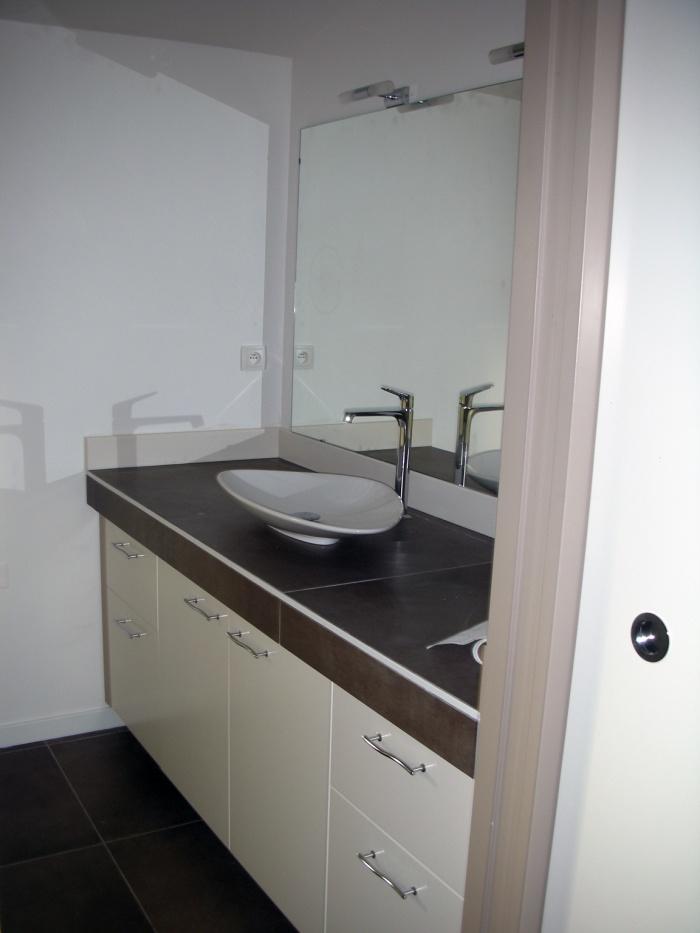 Extension d'une maison d'habitation : salle de bain