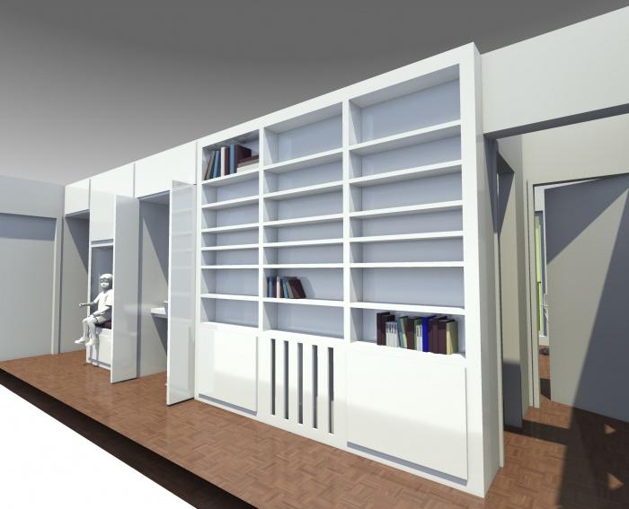 Rénovation d'un appartement : Pers Vestibule 2