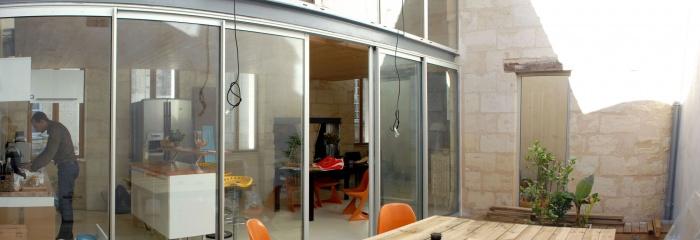 Création d'une habitation en plein coeur historique de Bordeaux : Reniere 12