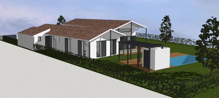 Architectes maison individuelle st andre for Architecte bordeaux maison individuelle