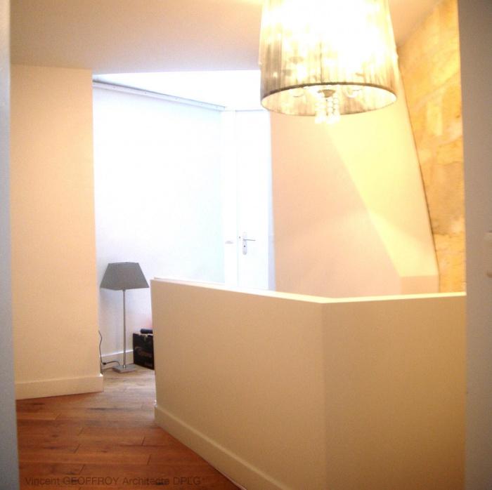873 - Réhabilitation d'un appartement type loft à Bordeaux, Jardin Public