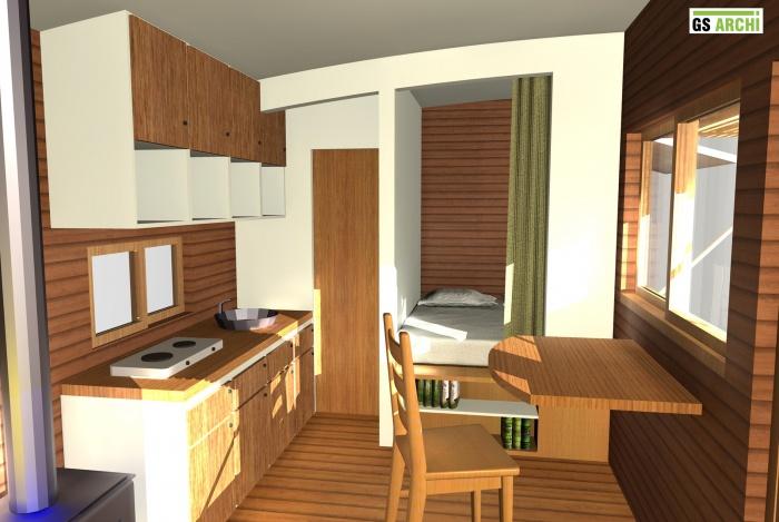 architectes petit espace autonome. Black Bedroom Furniture Sets. Home Design Ideas