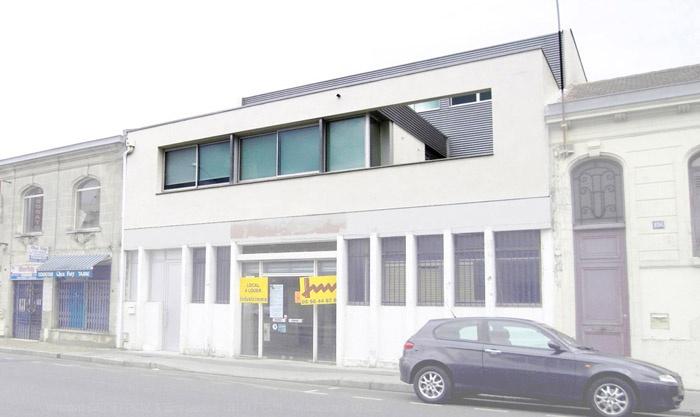 Création d'une habitation en surélévation d'un immeuble à Bordeaux