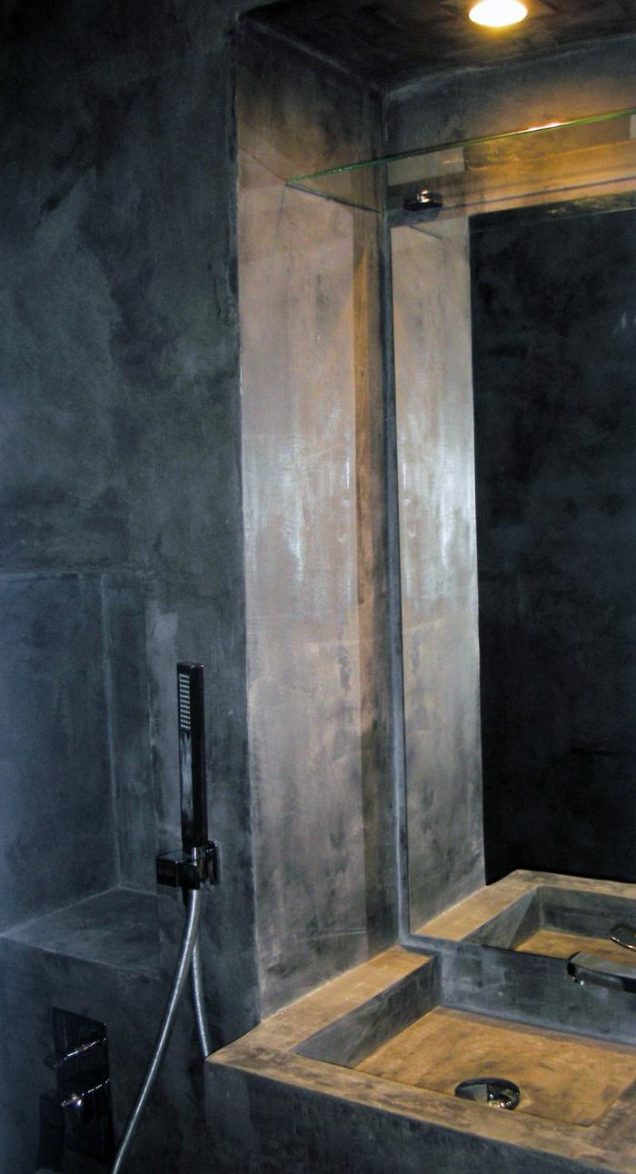 Réaménagement d'une chambre d'ami : vasque et miroir
