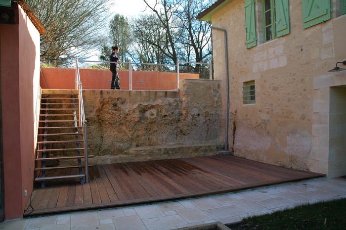 Aménagement d'une Terrasse Extérieure