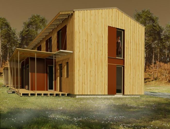 Logements individuels et collectifs en bois