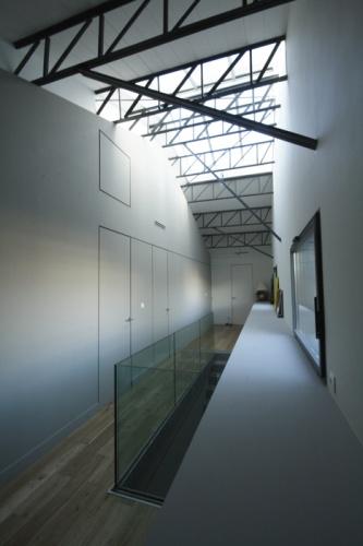 Transformation d'une usine : LOT B coursive étage