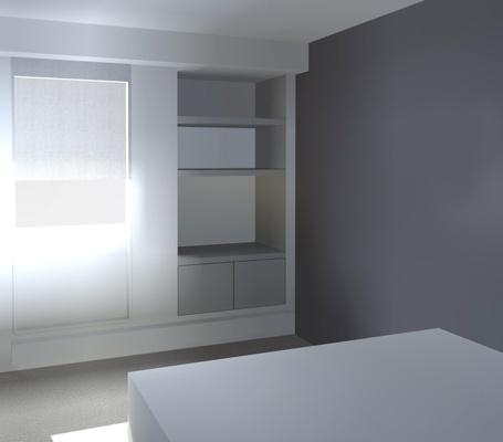 Rénovation d'un appartement : cielarchi-65P-chambre-2