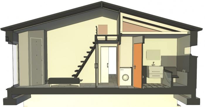 Architectes am nagement int rieur d 39 un - Amenagement d un garage en habitation ...
