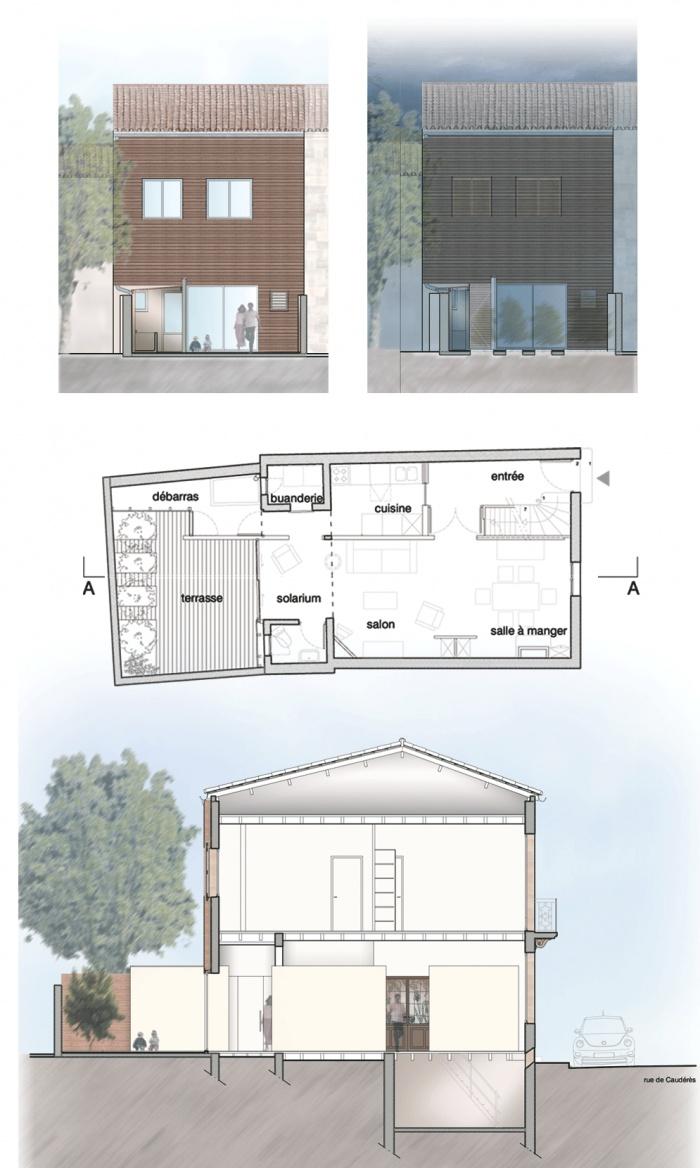 Rénovation d'une maison de ville du 19ème s.