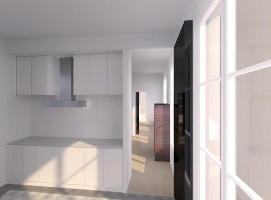 Rénovation d'un appartement : cielarchi-59T-b6-cuisine-salon