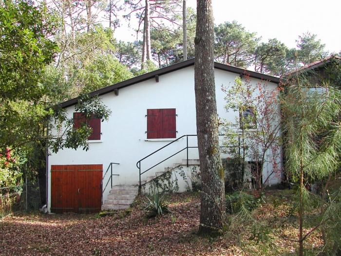 Maison Piquey : façade arrière