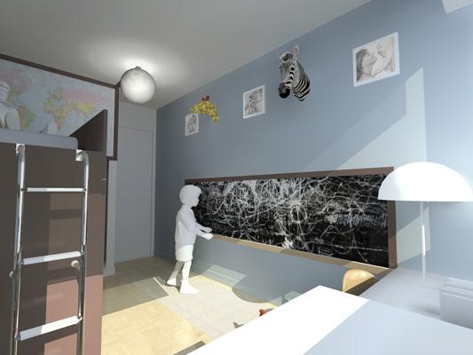 Chambre de petit garçon : STC1-vue3