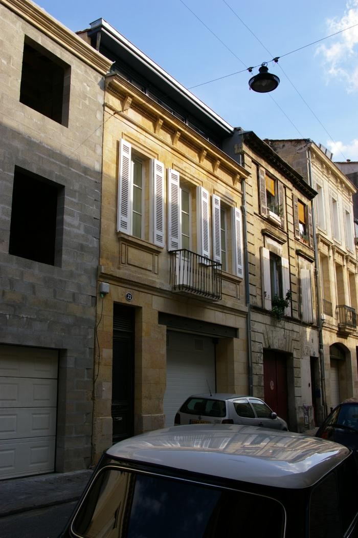 Architectes sur l vation et r am nagement d 39 une maison de ville bordeaux - Maison de ville bordeaux ...