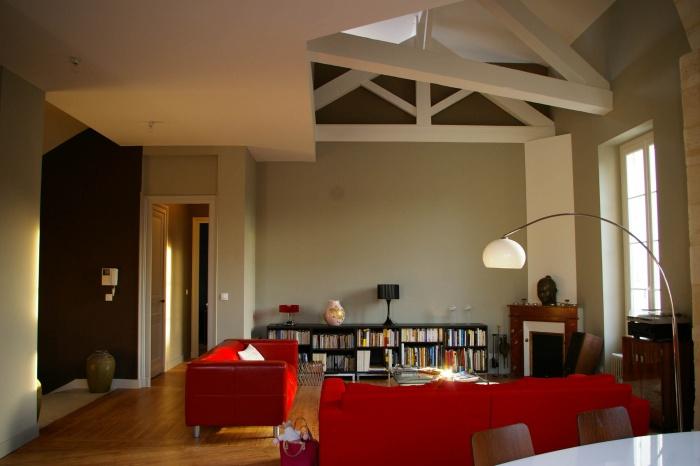 Réaménagement d'un appartement et création d'une terrasse
